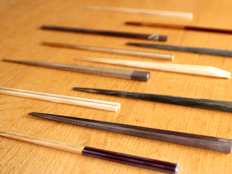 簡單為美,筷子