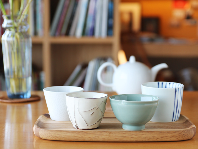 東方杯盛西式茶,綠茶杯喝紅茶
