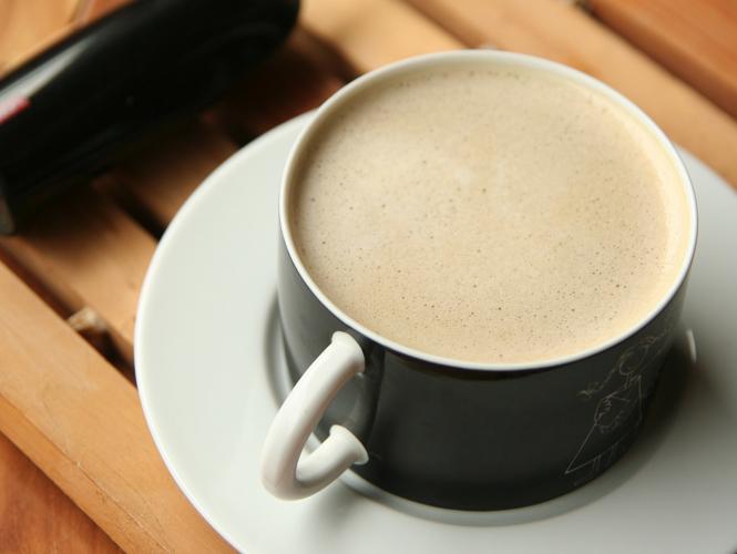 嘗試,豆奶拿鐵咖啡