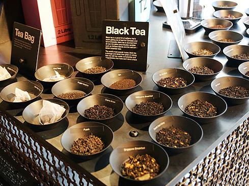 茶世界,調配正夯