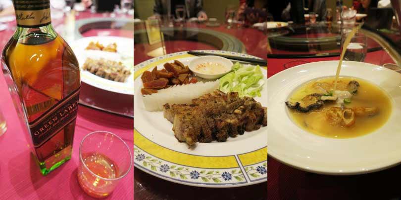 2015.06.22 JOHNNIE WALKER 綠牌 48% 15年 台灣限量版純麥威士忌品酒晚宴(真的好海鮮餐廳)