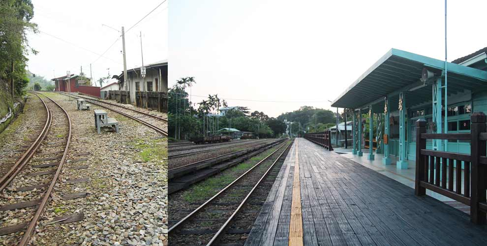 2015.09.05 嘉義 阿里山登山鐵道之竹崎車站&交力坪車站