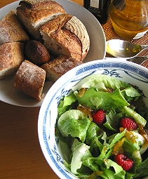 沁人心脾柚子風蔬菜沙拉(2004.05.18)