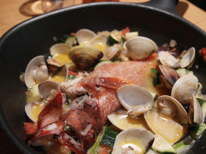 簡單華麗,地中海風燉海鮮