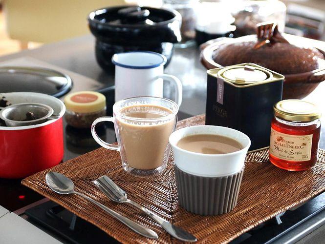 2017.10.04 ∼ 10.10 又厚又香奶茶方