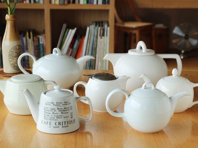 一路走來,紅茶壺
