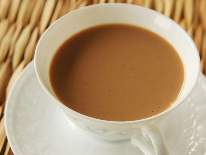 濃潤香暖,黑糖薑香麥奶茶
