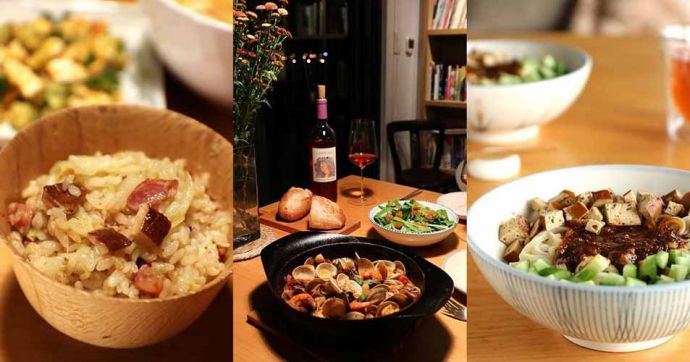 2017.02.12 ∼ 02.17 辛香暖熱,紅咖哩海鮮鍋