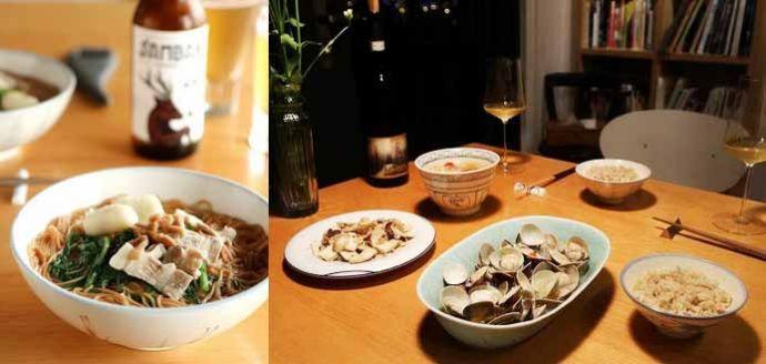 2017.05.03 ∼ 05.07 食譜版vs.電視版,酒蒸蛤蜊