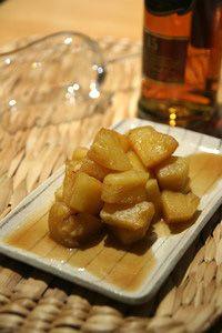 芳醇甜美,酒香蜂蜜肉桂鳳梨